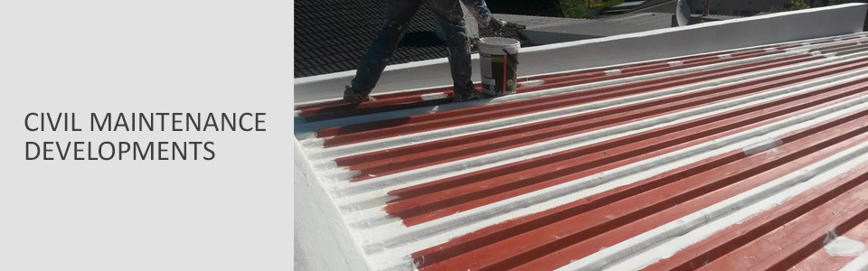 civil maintenance developments roof repair east rand